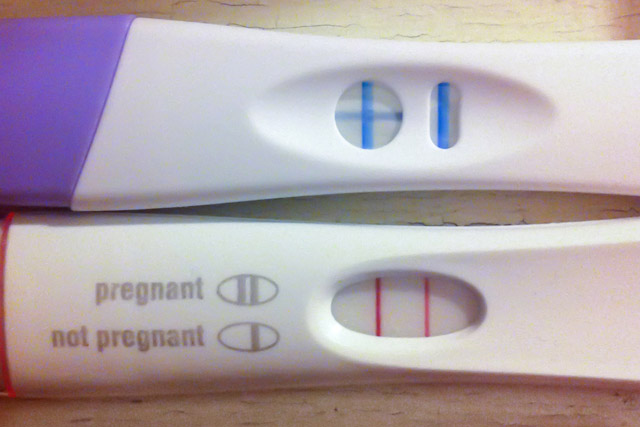 evaporation line and pregnancy tests pdf