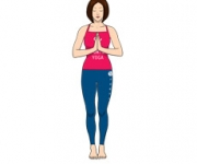 POSE OF THE MOUNTAIN - Tadasana
