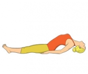 THE POSE OF THE FISH - Matsyasana
