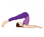 THE PLOW POSE - Halasana