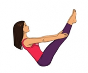 FULL BOAT POSE - Paripurna Of Navasana