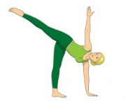 THE POSE OF THE CRESCENT MOON - Ardha Chandrasana