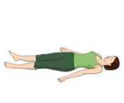 THE POSITION OF THE SLEEPING - Savasana