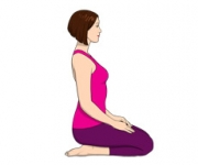THE POSITION OF THE DIAMOND - Vajrasana