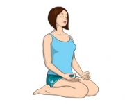 THE HERO POSE - Virasana