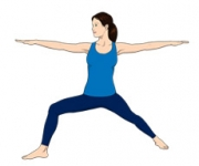 WARRIOR POSE - Virabhadrasana