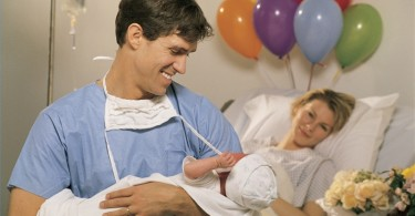 Joint childbirth – to give birth with her husband