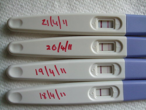 A pregnancy test is in the morning or in the evening to ...