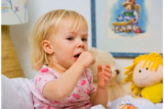 Whooping cough in a child