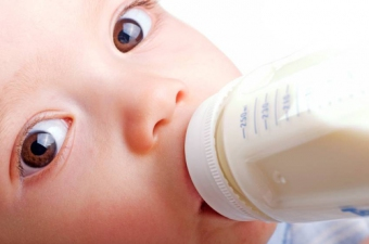 Can you finish feeding the child from the bottle