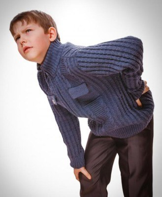 Causes and treatment of back pain in children