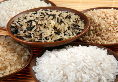 Products for the rice diet