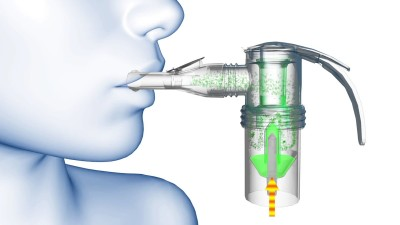 How does a nebulizer
