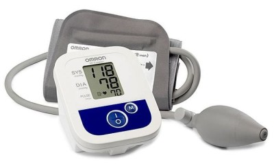 Semi-automatic blood pressure monitors