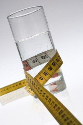 Water diet - diet for the lazy