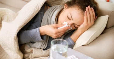 Flu symptoms prevention and treatment of influenza