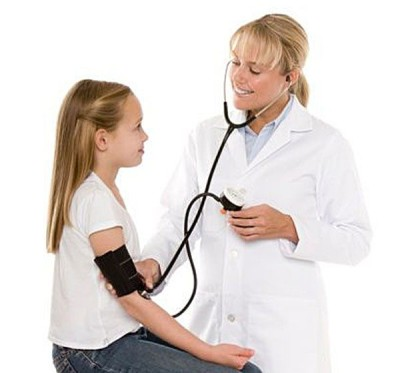 Treatment of hypotension in children