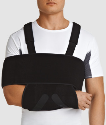 Dezo bandage when the clavicle fracture