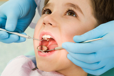 Treatment of caries in children