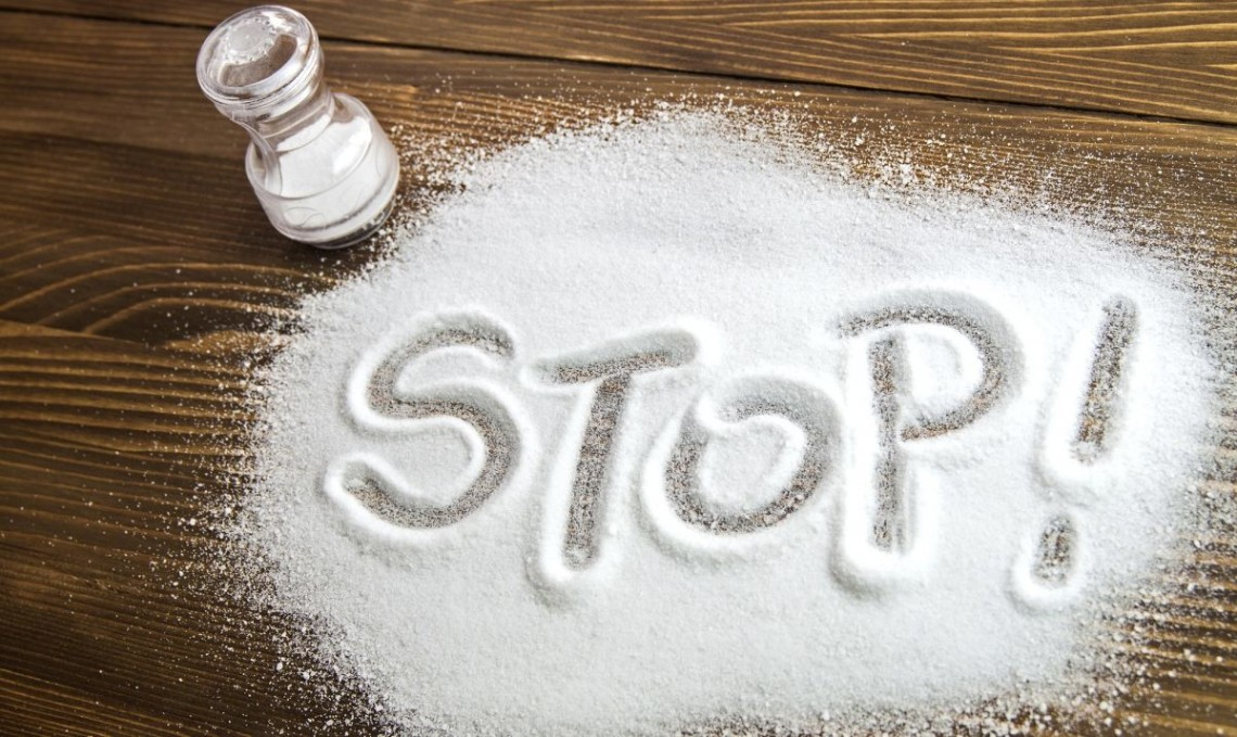 Salt in child's diet