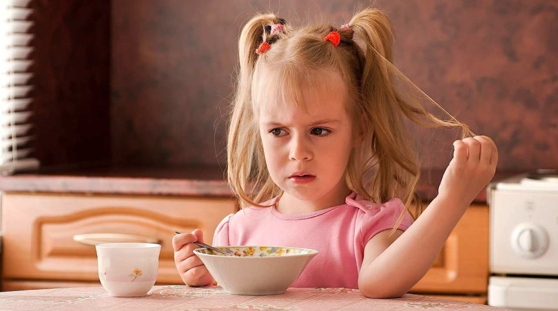 The child has no appetite - kid does not eat