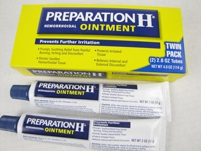 Ointment hemorrhoid