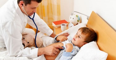 Psychosomatic diseases in children