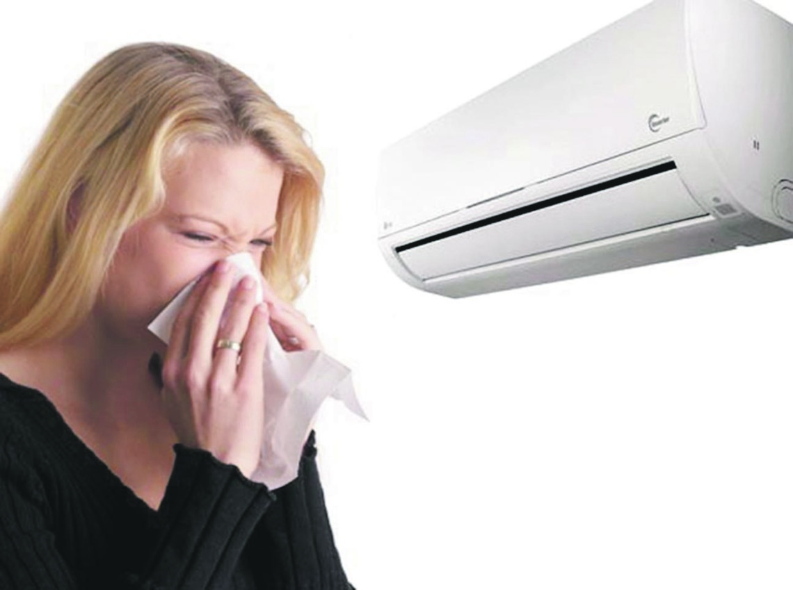 How to use air conditioning to avoid getting sick