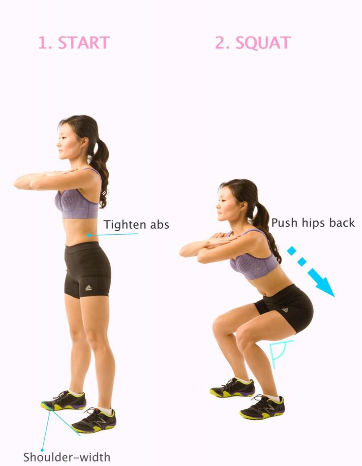 """How to squat Properly (Correctly) 