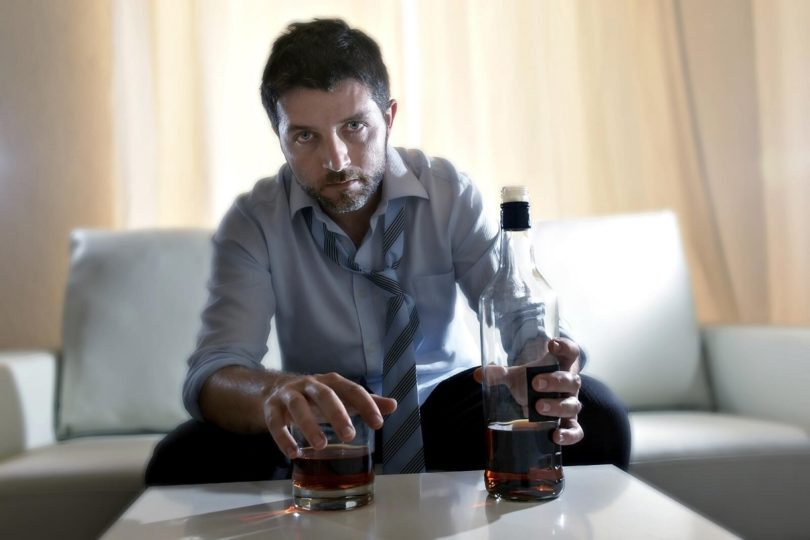 Alcoholism - symptoms and signs