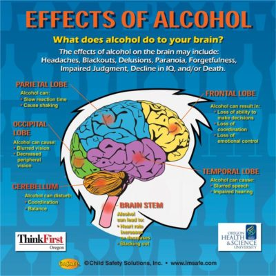 Effects of alcohol abuse on the brain