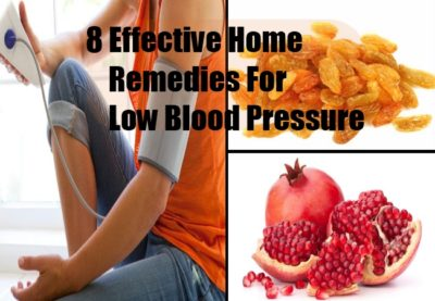 Treatment of low blood pressure