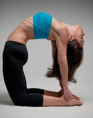 Pose of a camel - Ustrasana
