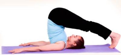 The plow pose - Hal-asana