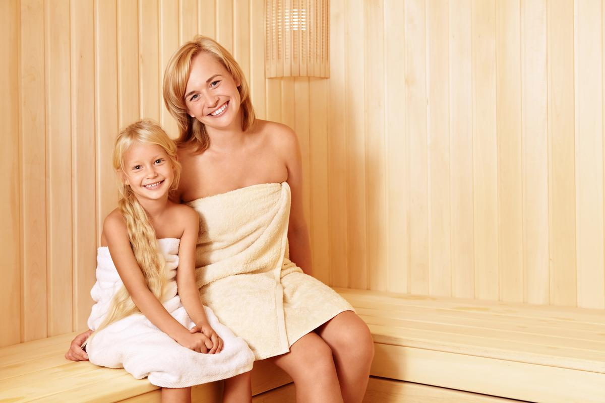 Children in Sauna - it is Safety for Kids?