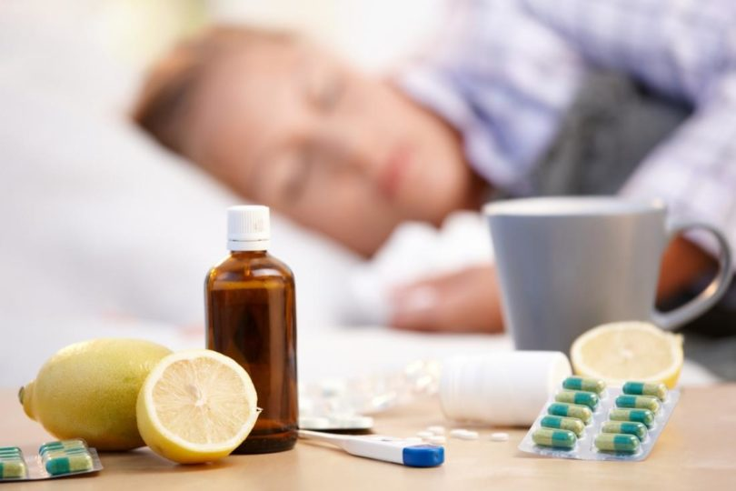Prevention of influenza and SARS